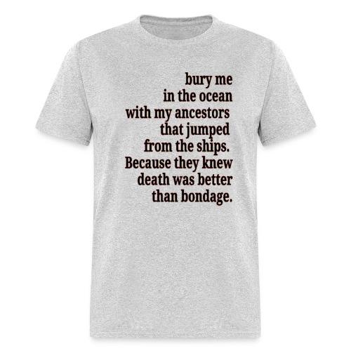 #killmonger  - Men's T-Shirt