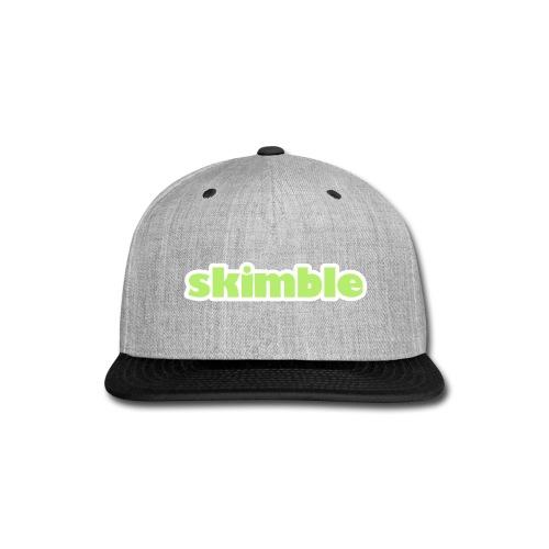 Skimble's Baseball Cap - Snap-back Baseball Cap