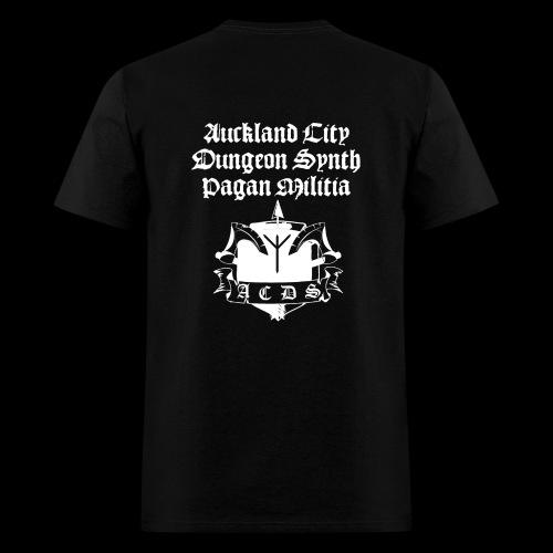 ACDSPM regular T back print - Men's T-Shirt