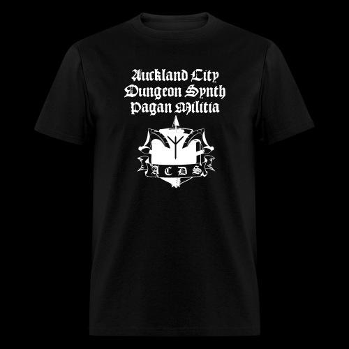 ACDSPM regular T front print - Men's T-Shirt