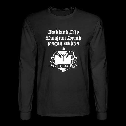 ACDSPM regular LS front print - Men's Long Sleeve T-Shirt