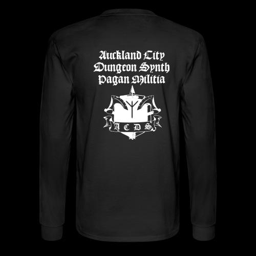 ACDSPM regular LS back print - Men's Long Sleeve T-Shirt