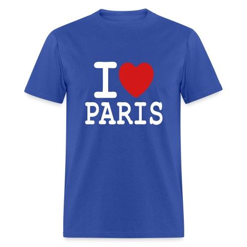 T-shirt i love Paris - Men's T-Shirt