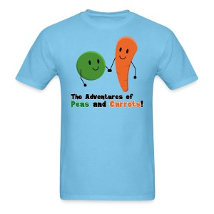 Peas and Carrots Men's T-shirt - Men's T-Shirt