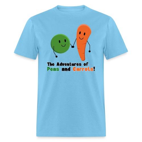 Peas and Carrots Men's T-shirt - Men's T-Shirt