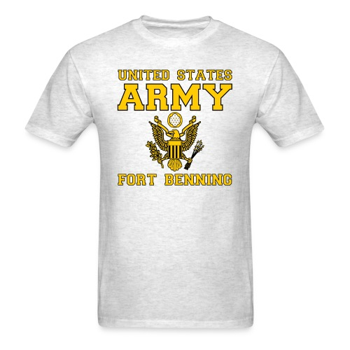 US Army Fort Benning - Men's T-Shirt