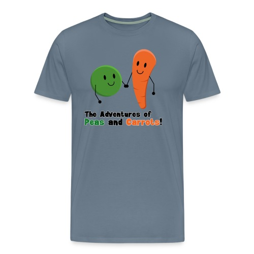Peas and Carrots Men's Premium T-shirt - Men's Premium T-Shirt
