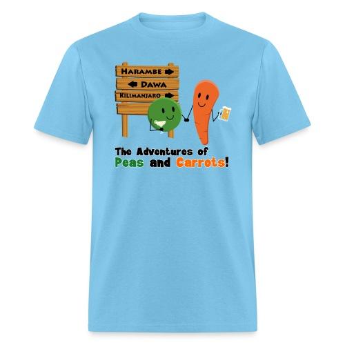 Peas and Carrots Harambe Men's T-shirt - Men's T-Shirt