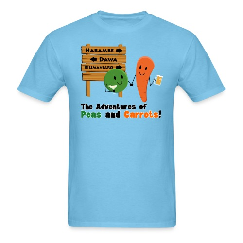 Peas and Carrots Harambe Men's T-shirt - Men's T-Shirt