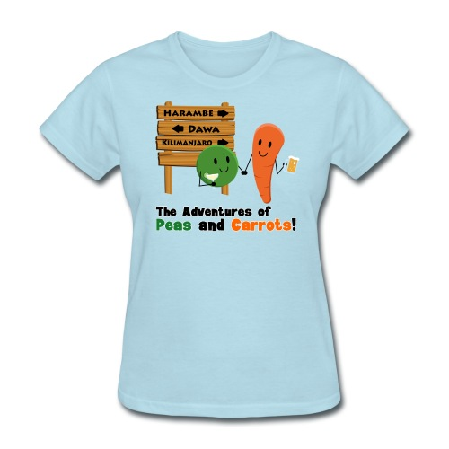 Peas and Carrots Harambe Women's T-shirt - Women's T-Shirt