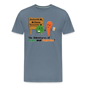 Peas and Carrots Harambe Men's Premium T-shirt - Men's Premium T-Shirt