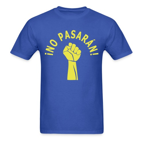 T-shirt No passaran - Men's T-Shirt