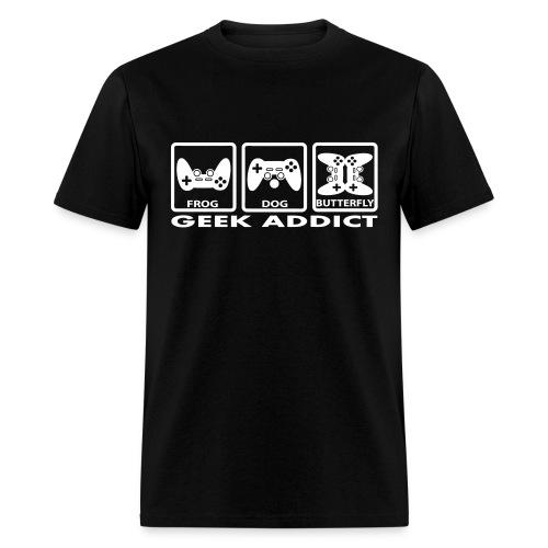 T-shirt Geek addict - Men's T-Shirt