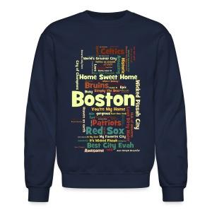 Three Words - Crewneck Sweatshirt