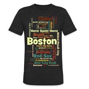 Three Words - Unisex Tri-Blend T-Shirt
