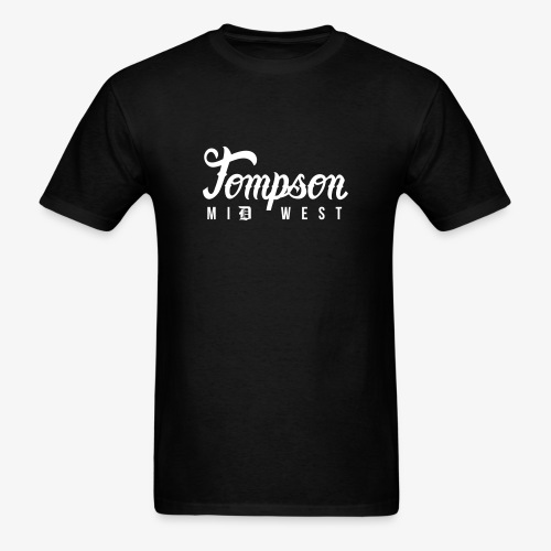 Tompson Midwest T-shirt Black - Men's T-Shirt