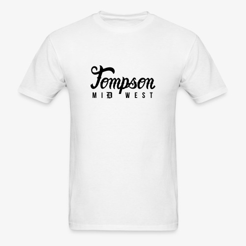 Tompson Midwest T-shirt White - Men's T-Shirt