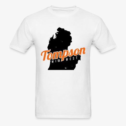 Tompson Midwest Mitten Shirt White - Men's T-Shirt