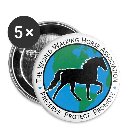 WWHA Seal Logo Large Button 5 Pack - Large Buttons