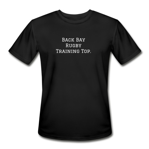 Back Bay Rugby Training Top  - Men's Moisture Wicking Performance T-Shirt