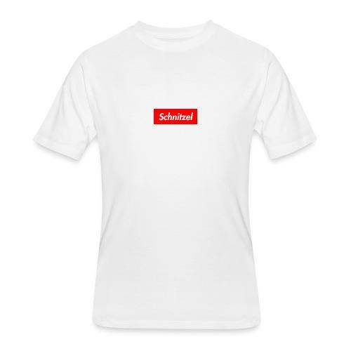 Schnitzel Box logo Shirt - Men's 50/50 T-Shirt