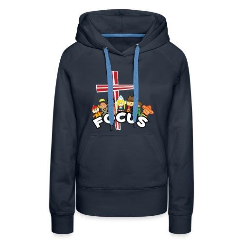FOCUS women's hoodie - Women's Premium Hoodie