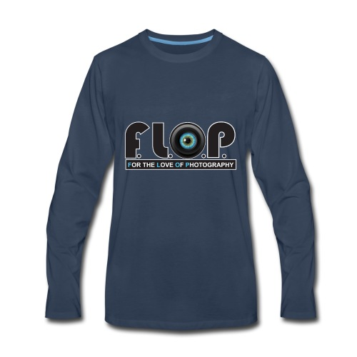FLOP For the Love Of Photography - Men's Premium Long Sleeve T-Shirt