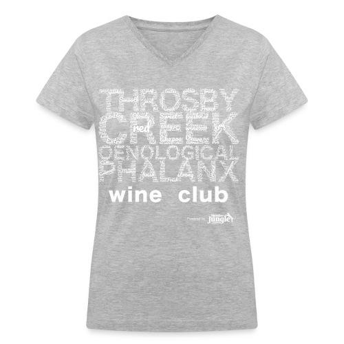 TCP Wordcloud T - for women - Women's V-Neck T-Shirt