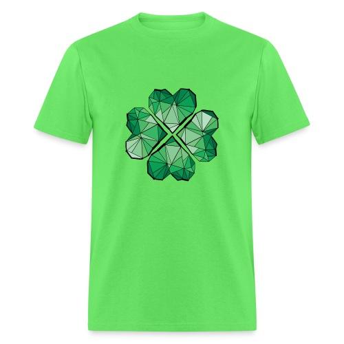 Geometric clover leaf Men's T-Shirt - Men's T-Shirt
