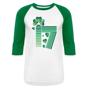 Lucky 17 St.Patrick's day Baseball T-Shirt - Baseball T-Shirt