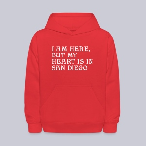 Heart is in SD - Kids' Hoodie