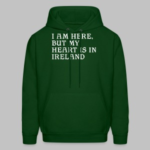 Heart is in Ireland - Men's Hoodie
