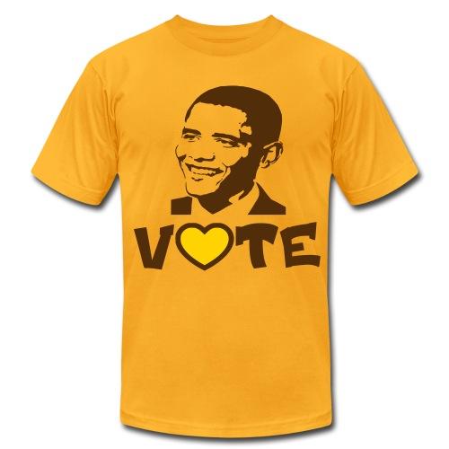 Iota Sweets Vote Obama - Men's Fine Jersey T-Shirt