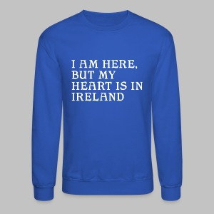 Heart is in Ireland - Crewneck Sweatshirt