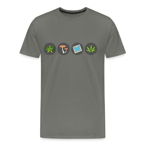 Cartel Mogul Men's Icon Shirt - Men's Premium T-Shirt
