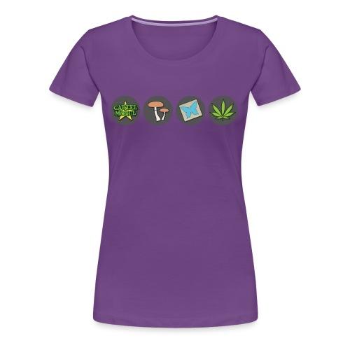 Cartel Mogul Woman's Icon Shirt - Women's Premium T-Shirt