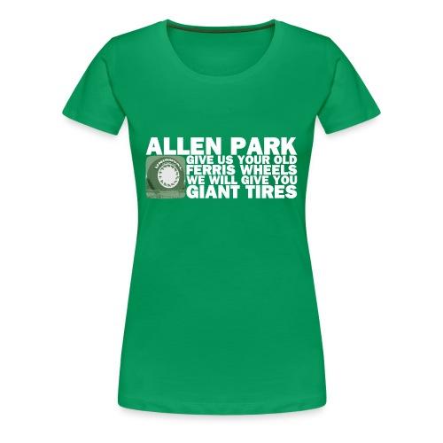 Allen Park Michigan Women's T-Shirt - Women's Premium T-Shirt