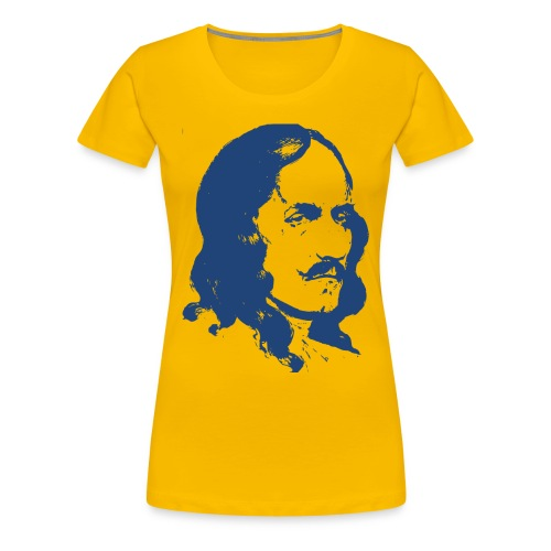 Antoine de la Mothe Cadillac (Detroit) Women's T-Shirt - Women's Premium T-Shirt