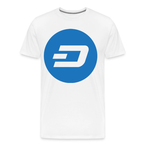 Dash Logo T-Shirt - Men's Premium T-Shirt