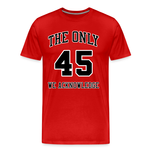 BNKR 45 [Red] Premium T-Shirt - Men's Premium T-Shirt