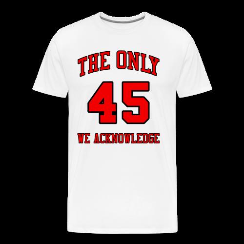 BNKR 45 [White] Premium T-Shirt - Men's Premium T-Shirt