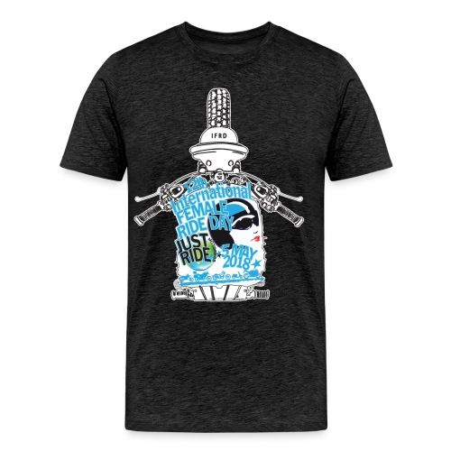 2018 International Female Ride Day • Big And Tall Unisex T-shirt - Men's Premium T-Shirt