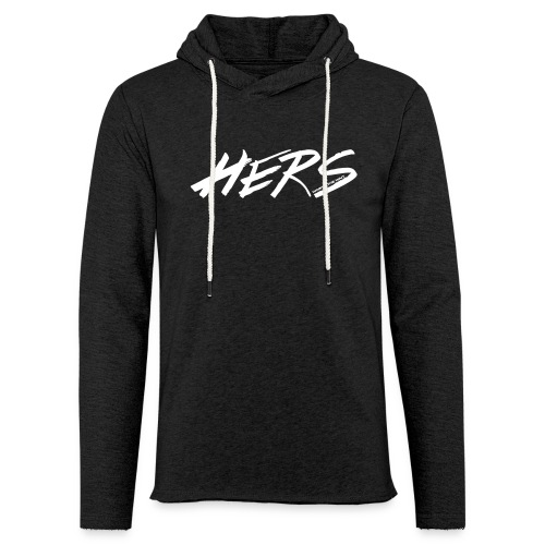 Hers (Men's) - Unisex Lightweight Terry Hoodie