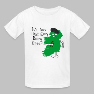 Not Easy Being Green - Kids' T-Shirt