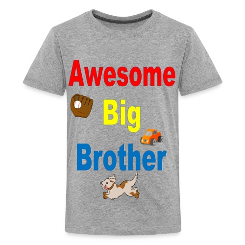 Awesome Big Brother - Kids' Premium T-Shirt
