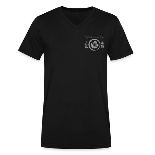 Danzan Dojo V neck T - Men's V-Neck T-Shirt by Canvas