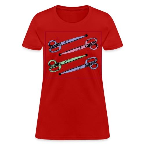 Scissors - women - Women's T-Shirt