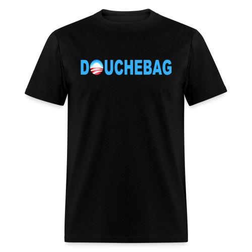 Anti-Obama Douchebag Shirt - Men's T-Shirt