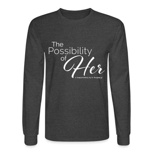 The Possibility of Her Text Long Sleeve Tee (men) - Men's Long Sleeve T-Shirt