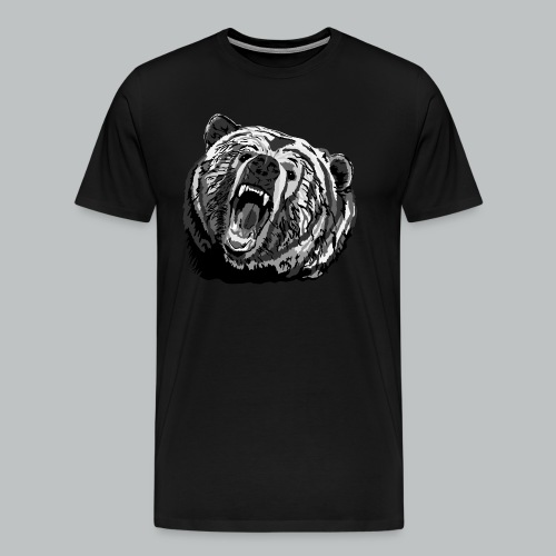 Bear - Men's - Men's Premium T-Shirt